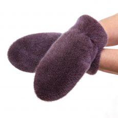 Норковые рукавицы Иней